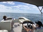 23 ft. Bennington Marine 2275 2RL3.0GI Pontoon Boat Rental Tampa Image 12