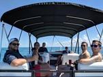 23 ft. Hurricane Fundeck  Deck Boat Boat Rental Tampa Image 2