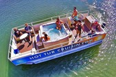 26 ft. Custom Built Hot Tub Cruisin Boat Pontoon Boat Rental San Diego Image 1