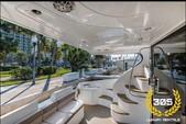 49 ft. Azimut Yachts 46 Motor Yacht Boat Rental Miami Image 4