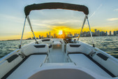 18 ft. Bayliner Element XL 4-S Mercury  Deck Boat Boat Rental Miami Image 1