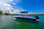 18 ft. Bayliner Element XL 4-S Mercury  Deck Boat Boat Rental Miami Image 4
