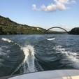 18 ft. Four Winns Boats 180 Horizon Bow Rider Boat Rental Austin Image 5