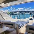 65 ft. princess V65 Express Cruiser Boat Rental Miami Image 14