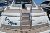 65 ft. princess V65 Express Cruiser Boat Rental Miami Image 17