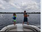 19 ft. Hurricane Boats SD 187 I/O Deck Boat Boat Rental Orlando-Lakeland Image 3