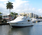46 ft. Silverton Marine 410 Sport Bridge Cruiser Boat Rental Miami Image 1