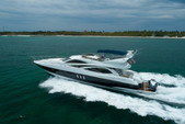 64 ft. sunseeker Manhattan Motor Yacht Boat Rental Miami Image 6