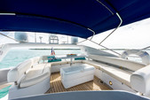 64 ft. sunseeker Manhattan Motor Yacht Boat Rental Miami Image 15