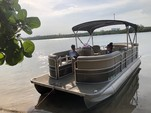 20 ft. Misty Harbor 225CR Adventure Pontoon Boat Rental Miami Image 3
