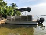 20 ft. Misty Harbor 225CR Adventure Pontoon Boat Rental Miami Image 2
