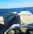 25 ft. Harris FloteBote 240 Sunliner 4-S Pontoon Boat Rental West FL Panhandle Image 4