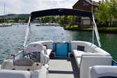 27 ft. Crest silver Pontoons '27 Cruiser Boat Rental Rest of Southwest Image 3