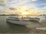 20 ft. Misty Harbor 225CR Adventure Pontoon Boat Rental Miami Image 11