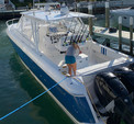 40 ft. Intrepid Powerboats 400 Cuddy Triple rigged Express Cruiser Boat Rental West Palm Beach  Image 1