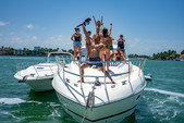 65 ft. princess V65 Express Cruiser Boat Rental Miami Image 19