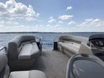 22 ft. Sun Tracker by Tracker Marine Party Barge 20 DLX Signature w/60ELPT 4-S Pontoon Boat Rental N Texas Gulf Coast Image 6