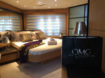 90 ft. Majestic Pershing Motor Yacht Boat Rental Miami Image 7