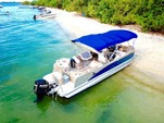 25 ft. Avalon Pontoons 24' Catalina Cruise Pontoon Boat Rental Miami Image 6