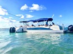 25 ft. Avalon Pontoons 24' Catalina Cruise Pontoon Boat Rental Miami Image 9