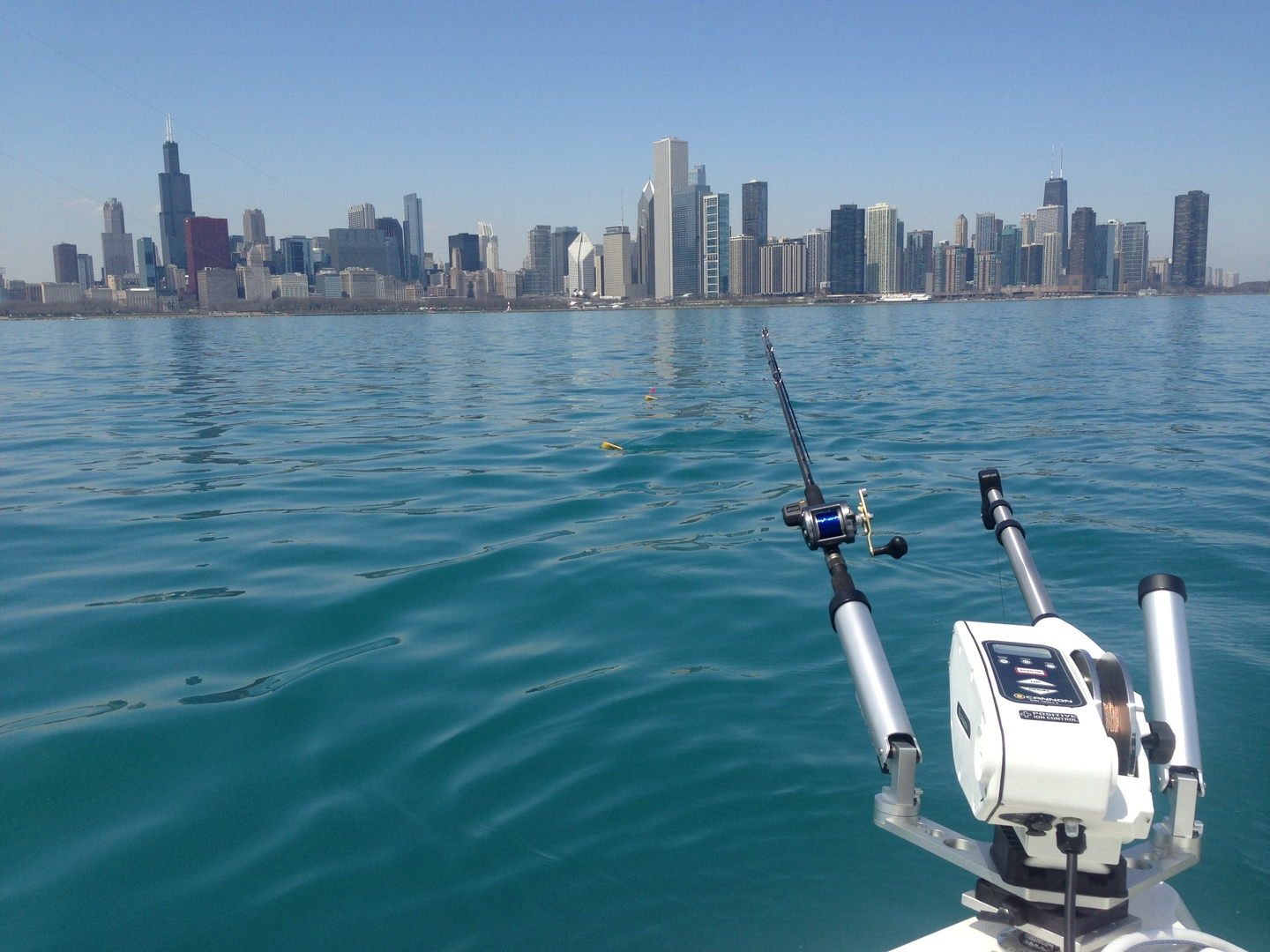 Chicago boating guide boatsetter for Fishing in lake michigan