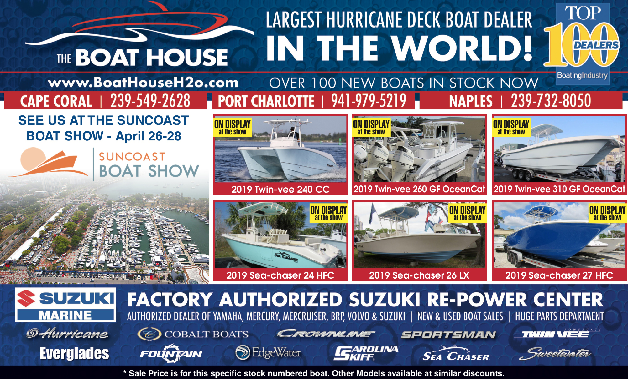 Event Calendar - The Boat House
