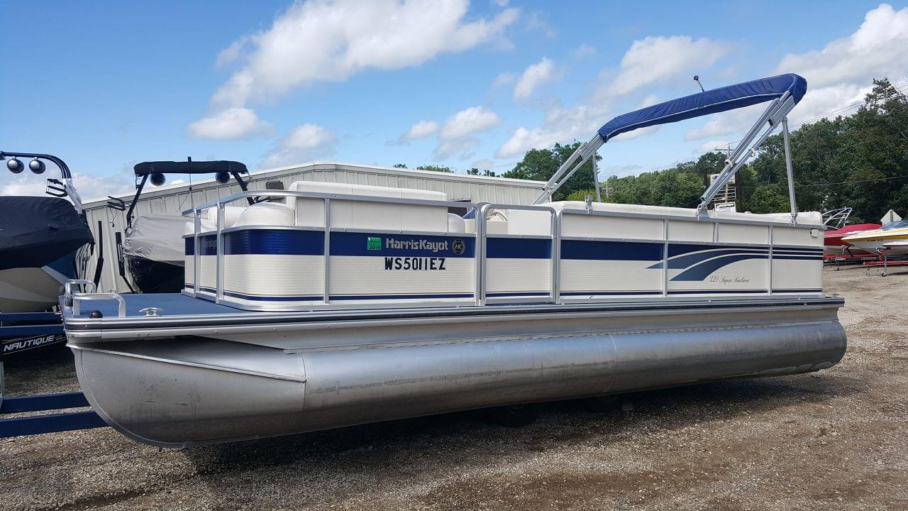 Used 2000 Harris 220 Super Sunliner Stock Ubh1017 The Boat House