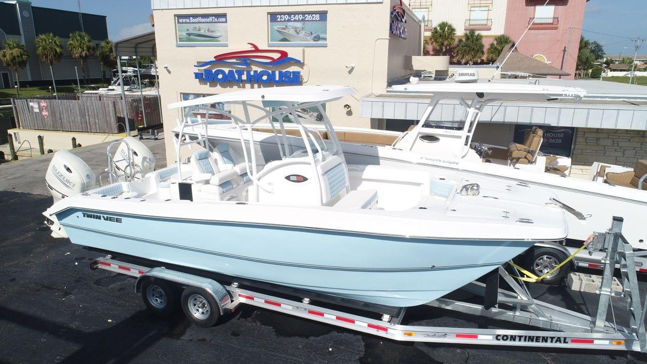 New 2019 Twin Vee 260 Sel Stock 026 412 B1 The Boat House