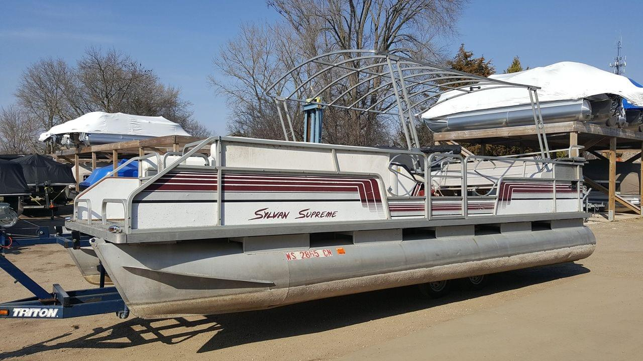 Used 1991 Sylvan Supreme Es2 Stock Ubd1416 C The Boat