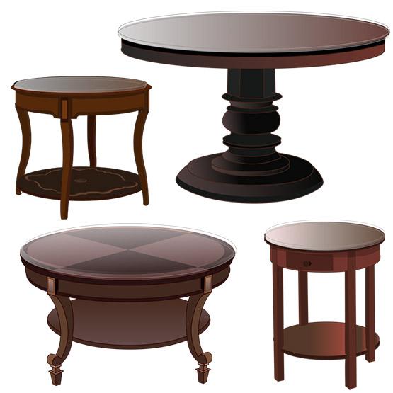 Custom Circular Table Tops