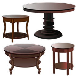 Custom Circular Table Tops