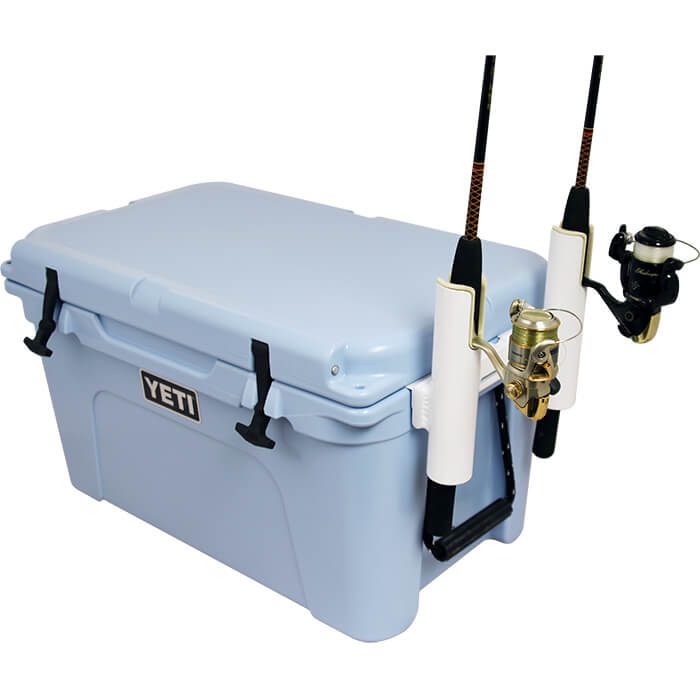 Yeti Side Mounted Two Rod Rack Boat Outfitters