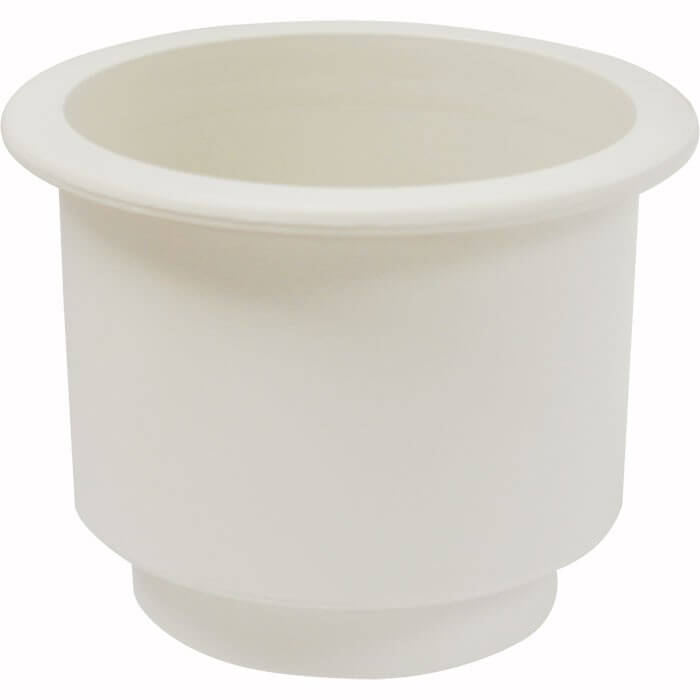 off white plastic cup holder boat outfitters