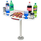 Drink Bar with Serving Tray and Table Base