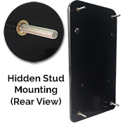 Hidden Stud Mount Rear View