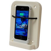 Upright Charging Station with Bungee