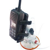 VHF/GPS/Satellite Phone Holder with SeaSucker Vacuum Mount