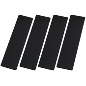 Black SeaDek Step Pads - 4 Piece Kit