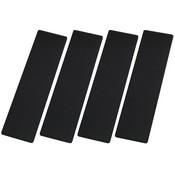 Black SeaDek Step Pads - 4 Piece Kit