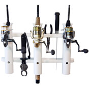 Three Rod Boga Grip Boat Rod Holder