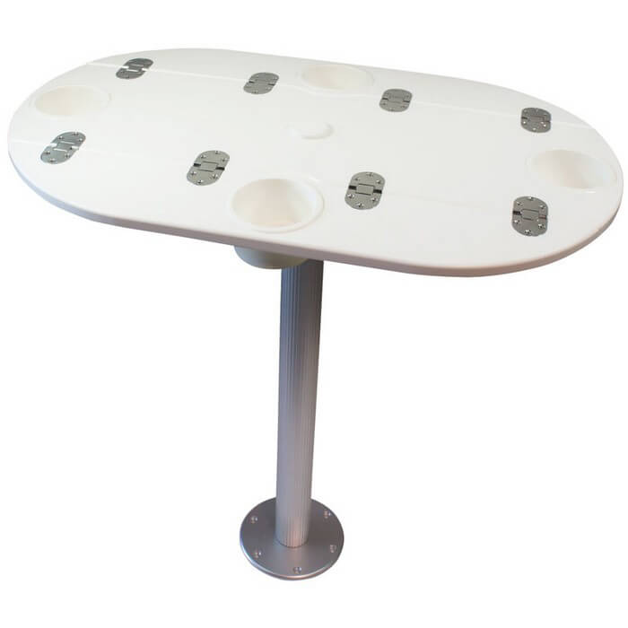 Starboard Table With Pedestal Boat Outfitters
