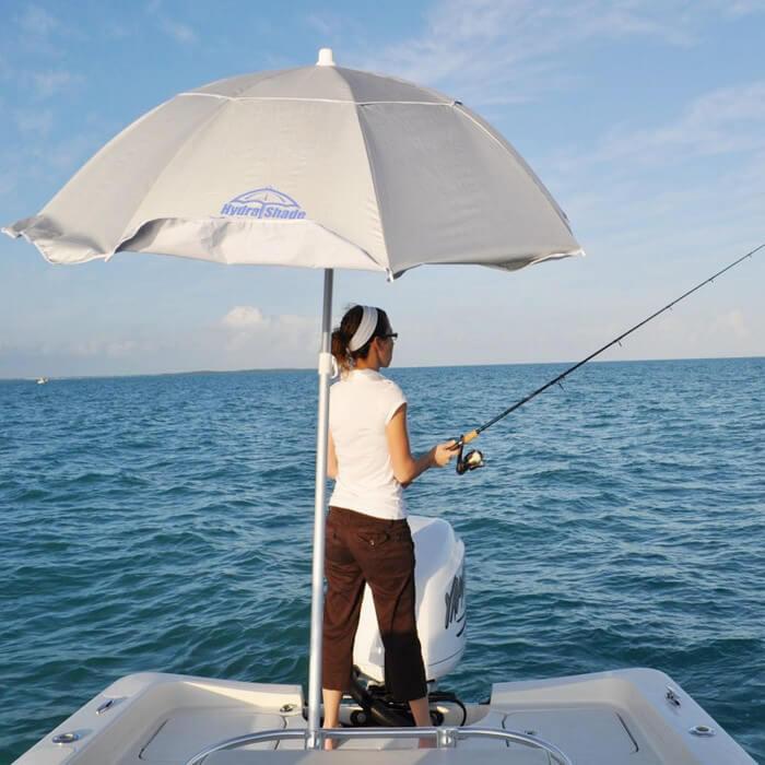 Amazon.com : Hospitality Rattan XL-150 Hydra Shade 8 ...   Bass Boat Umbrella