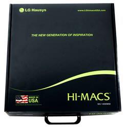 LG Hi-Macs Sample Box