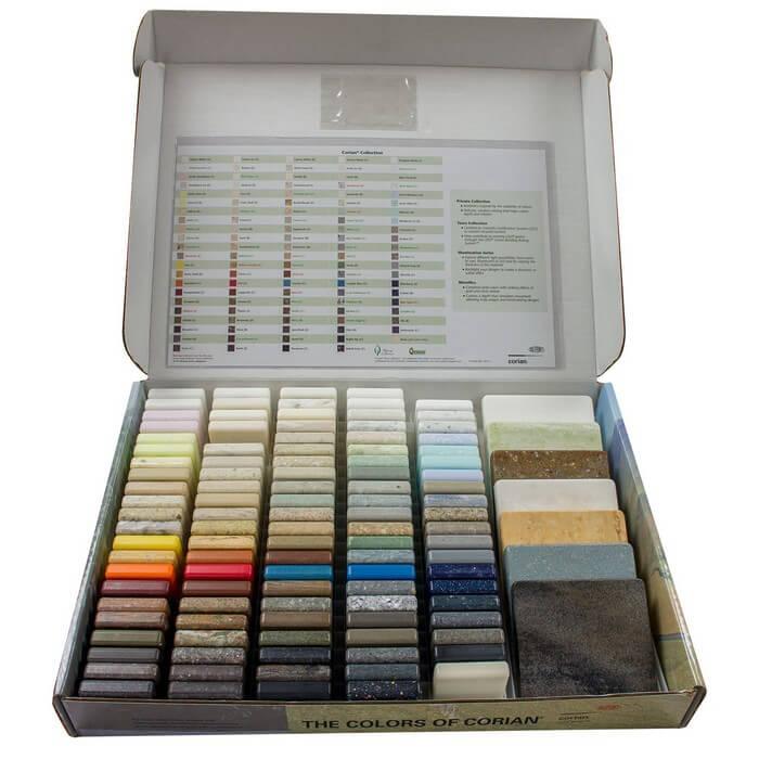 Dupont Corian Sample Box