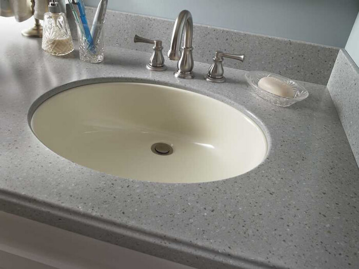 Corian Bathroom Vanity Tops : Corian sink