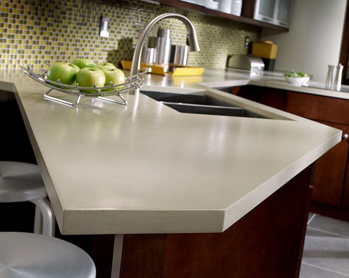 kitchen design concrete corian detailed shot. Interior Design Ideas. Home Design Ideas