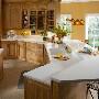 Glacier White Corian Kitchen Countertops