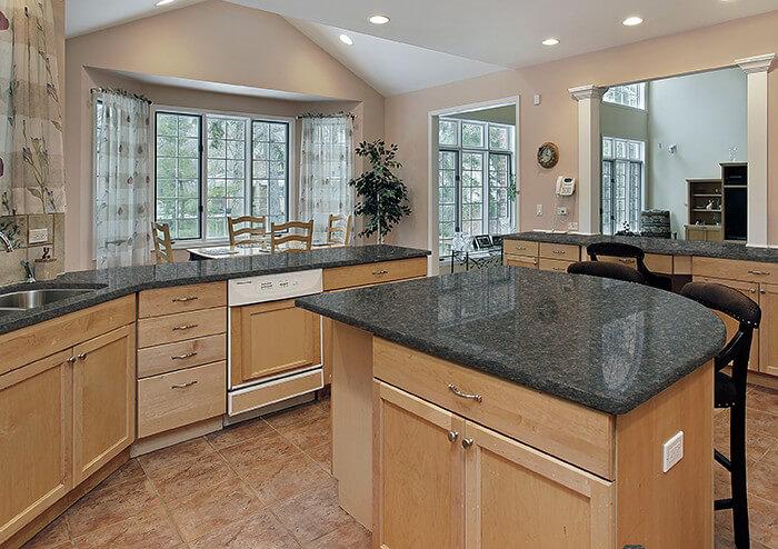 Captivating ... Horse Chestnut Hi MACS Kitchen Countertops