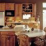 Raffia Corian Kitchen Countertop Island