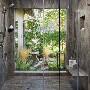Rosemary Corian Shower Panels